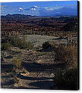 Southwest Snake Canyon Canvas Print by Maria Arango Diener