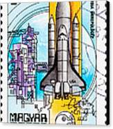 Space Shuttle Columbia Rocket Launch  Canvas Print by Jim Pruitt