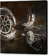 Space Station Construction Canvas Print by Bryan Versteeg