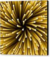 Spaghetti Noodles Canvas Print by Joe Belanger