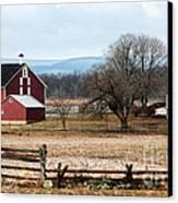 Spangler's Farm Canvas Print by John Rizzuto