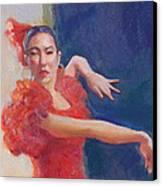 Spanish Eyes Canvas Print by Gwen Carroll
