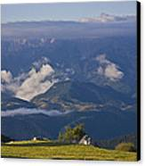 Spanish Pyrenees Canvas Print by Frits Selier