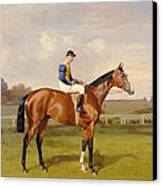 Spearmint Winner Of The 1906 Derby Canvas Print by Emil Adam