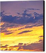 Spectacular Sunset Canvas Print by Elena Elisseeva