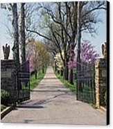 Spendthrift Farm Entrance Canvas Print