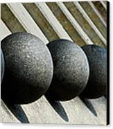 Spheres And Steps Canvas Print by Christi Kraft