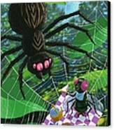 Spider Picnic Canvas Print by Martin Davey