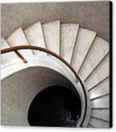 Spiral Stair - Denys Lasdun Canvas Print by Peter Cassidy