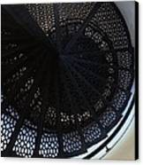 Spiral Staircase Canvas Print by Brett Geyer