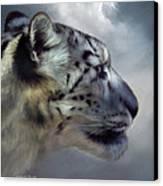 Spirit Of The Sky Canvas Print by Carol Cavalaris