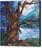 Spirit Tree Canvas Print by Ellen Levinson