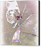 Splatter Canvas Print by Jill Balsam
