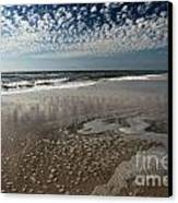 Splattered Clouds Canvas Print by Adam Jewell