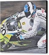 Sport Rider Canvas Print