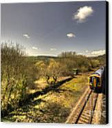 Spring At Seaton Junction  Canvas Print by Rob Hawkins