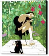 Spring Awakening Canvas Print by Tomer Hanuka