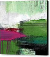 Spring Became Summer- Abstract Painting  Canvas Print