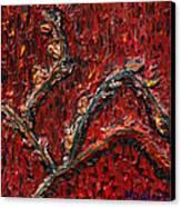 Spring Dance Canvas Print by Vadim Levin