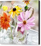 Spring Delights Canvas Print by Bonnie Bruno