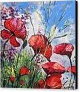 Spring Enchantement Canvas Print by Andrei Attila Mezei