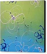 Spring Flowers Canvas Print by Juan Molina