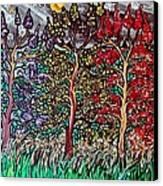 Spring Night Canvas Print by Matthew  James