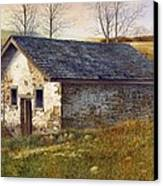 Springhouse Canvas Print