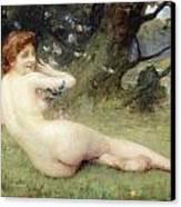 Springtime Canvas Print by Charles Lenoir