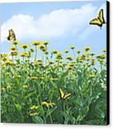 Springtime Canvas Print by Diane Diederich