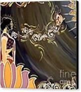 Sri Lalita Canvas Print by Meenakshi Malhotra