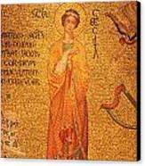 St Cecilia  Canvas Print by Philip Ralley