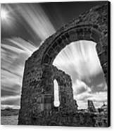 St Dwynwen's Church Canvas Print by Dave Bowman