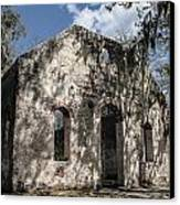 St Helena Chapel Of Ease 2 Canvas Print by Steven  Taylor