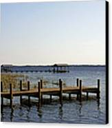 St Johns River Florida - Walk This Way Canvas Print