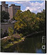 St. Joseph River Panorama Canvas Print