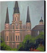 St. Louis Cathedral Canvas Print by Lilibeth Andre