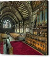 St Marys Church Organ Canvas Print