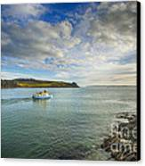St Mawes Ferry Duchess Of Cornwall Canvas Print by Chris Thaxter