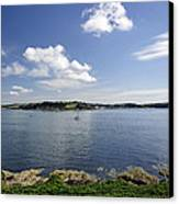St Mawes From Pendennis Point Canvas Print
