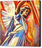 St. Michael Canvas Print by Sheila Diemert