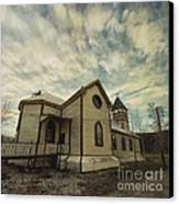 St. Pauls Anglican Church Canvas Print by Priska Wettstein