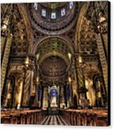 St. Peter And Paul Cathedral Canvas Print by Kim Zier