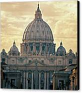 St Peter's Afternoon Glow Canvas Print by Joan Carroll