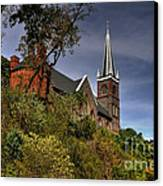 St. Peter's Of Harpers Ferry Canvas Print by Lois Bryan