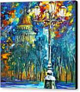 St. Petersburg New Canvas Print by Leonid Afremov