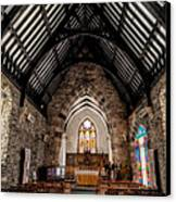 St Tudcluds Church Canvas Print by Adrian Evans