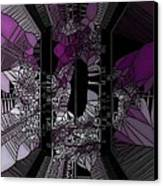 Stain Glass Canvas Print by HollyWood Creation By linda zanini