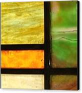 Stained Glass 5 Canvas Print by Tom Druin