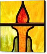 Stained Glass 8 Canvas Print by Tom Druin